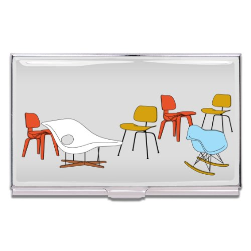 Acme Business Card Case - ACME Studios Chairs Business Card Case by Charles & Ray Eames (CE04BC)