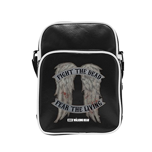 THE WALKING DEAD - Borsa a Tracolla Vinile Daryl Wings