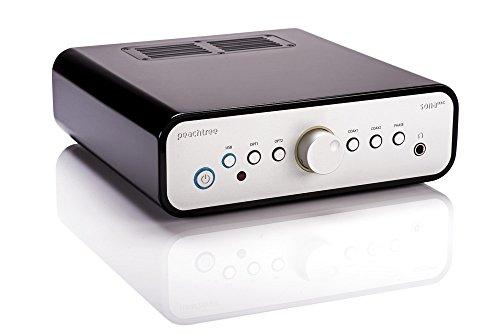 Peachtree Audio SONADAC Digital to Analog Converter/Preamp/Headphone Amplifier (High Gloss Black) (Amplifier Peachtree)