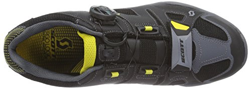 Scott Trail Evo Gore-Tex, Herren Traillaufschuhe, Schwarz (Black/Yellow), 44 EU