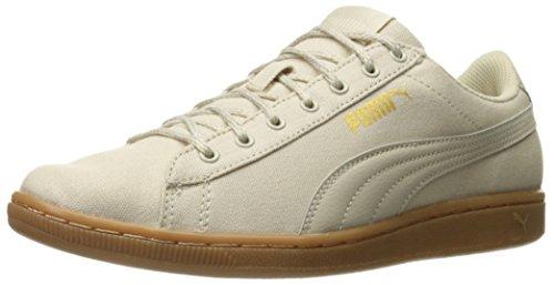 PUMA Women's Vikky Spice Fashion Sneaker, Oatmeal-Oatmeal, 9 M US