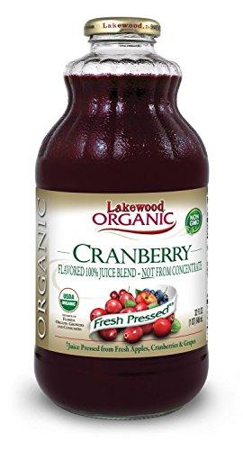 Lakewood Organic Cranberry Juice Blend 32 Ounce Bottles