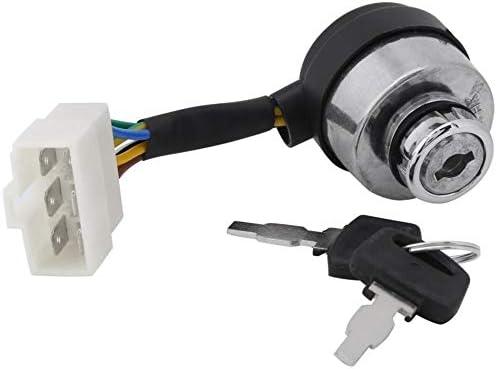 NO LOGO WJN-Motor, Interruptor 1PC 6 Alambre de Encendido de Inicio for 2.5-6.5KW 188F generador de Gas Accesorios Generador de Gasolina (tamaño : 4.2cm/1.65inch)