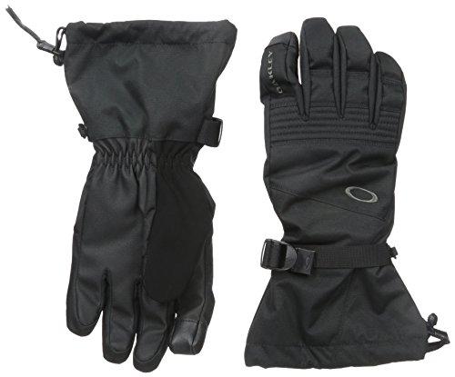 - Oakley Men's Roundhouse OTC Gloves, Jet Black, Small