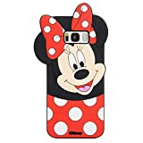 EMF Cute Mouse Case for Samsung Galaxy S7 Edge,3D Cartoon Animal Silicone Rubber Protective Kawaii Funny Character Cover,Animated Fun Cool Skin Case for Kids Teens Girls Guys (Samsung Galaxy S7 Edge)
