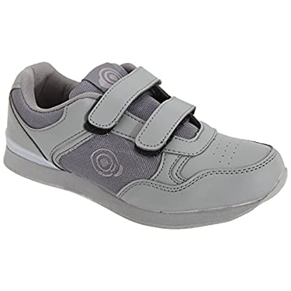 Dek Womens/Ladies Lady Skipper Touch Fastening Trainer-Style Bowling Shoes 2