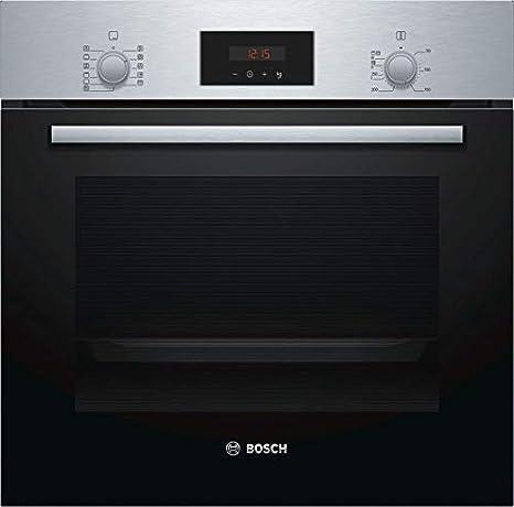 Bosch HBF174ER0 Horno multifunción Cristal negro con acero ...