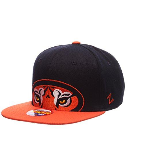 (ZHATS NCAA Auburn Tigers Youth Boys Peek Snapback Hat, Navy/Orange, Adjustable)