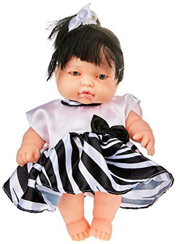 Boneca Fantasia Baby Zebrinha Anjo Branca