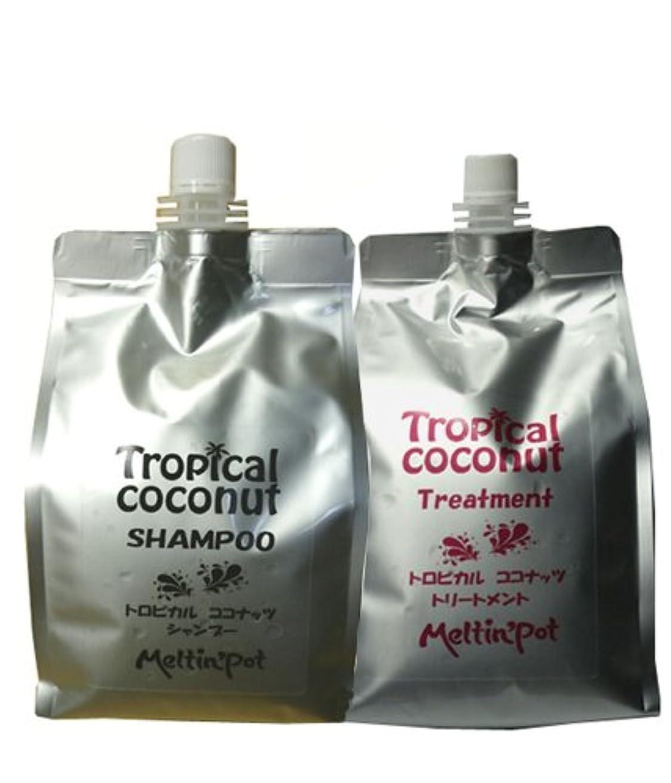 解釈的検証ベンチャートロピカルココナッツ シャンプー&トリートメント 1000ml*2  Tropical coconut shampoo&treatment