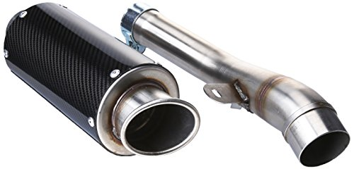 Hotbodies Racing 80801-2400 Carbon Fiber Slip-On MGP Exhaust Canister