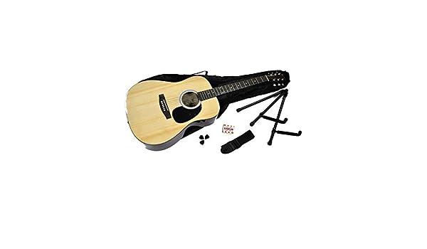 Rochester - Kit de guitarra acústica: Amazon.es: Instrumentos ...