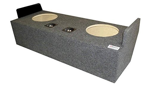 """Bbox A132-12CP Dual 12"""" Sealed Carpeted Subwoofer Enclosure - Fits 1982 - 2004 Chevrolet / GMC S10 / S12 / Sonoma Extended Cab"""