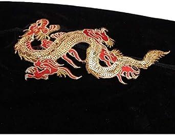 RichBoo Men-Velvet-Durag Black Long-Tail Doo-Rags for 360 Wave Durag