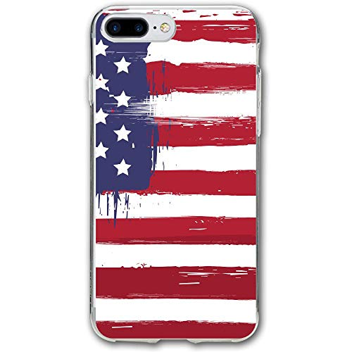 USA Flag Resistant Cover Case Compatible iPhone 7 Plus iPhone 6 Plus 5.5IN]()