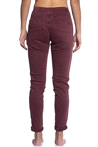 3d Otoño Art Colores Variados Jeans 6568 Vino Delicado Abbino Fashion Transición Elegante Invierno Tendencia Rojo Flexible Venta para Juvenil Mujer Rebajas Encanto Colección Estilo Sensibilidad Fit CG001 Algodón 8SWWFq4