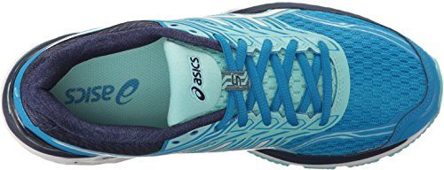 White Women's Diva Aqua 2000 ASICS Blue Running Splash Shoe Gt 5 H8Zwqd