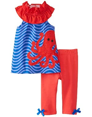 Baby Girls' Octopus Tunic and Legging Set