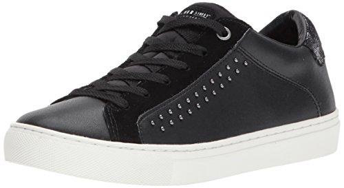 Skechers Donne Di Strada A Lato Della Strada Tempestato Quadrilatero Della Moda Sneaker Nero