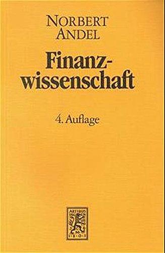 Finanzwissenschaft / Finanzwissenschaft