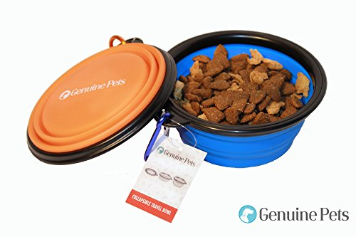 Genuine Pets Dishwasher Collapsible Bowls product image