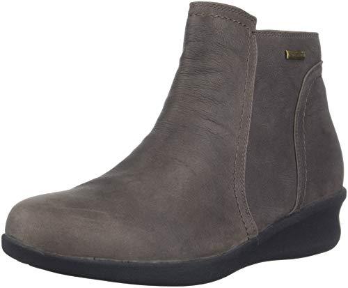 Aravon Women's Fairlee Ankle Boot, Warm Iron, 8 D US