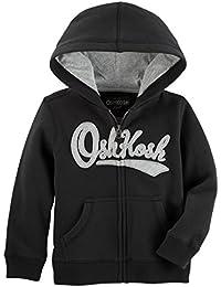 Osh Kosh Boys' Full Zip Logo Hoodie