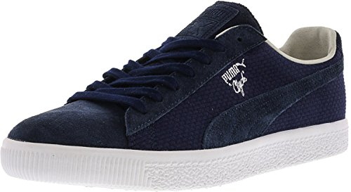 Puma Mens Clyde Mij Ankel-high Fashion Sneaker Peacoat