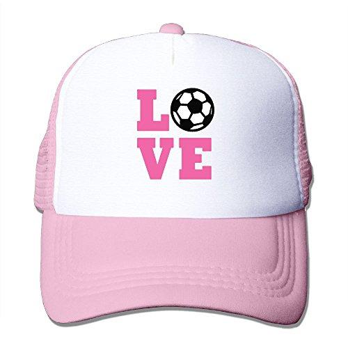 Baseball School Uniform Costumes Old (I Love Soccer Unisex Grid Baseball Caps Hat Adjustable Novelty)