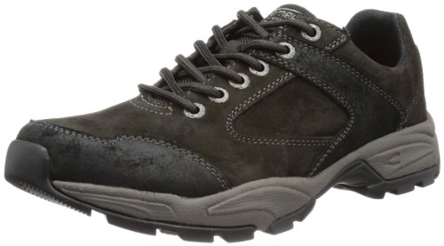 camel active Evolution 11 - Scarpe Oxford Uomo, Nero (charcoal/black 22), 39 EU