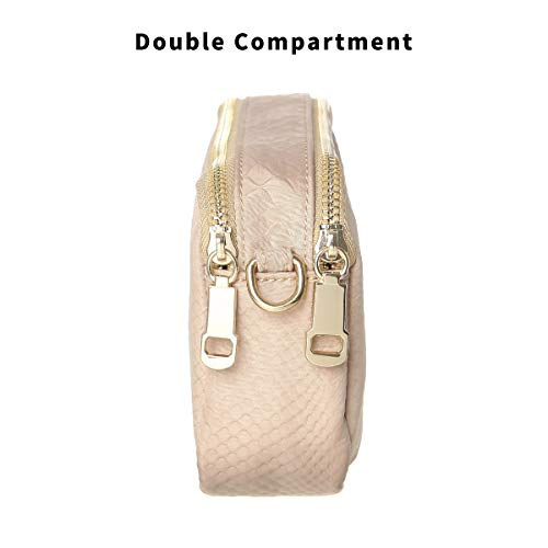 Cell Shoulder Bag for Small Wallet TENXITER Apricot Purse Waterproof Bags Women Phone Crossbody xFXYvXAwIq