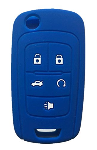 Rpkey Silicone Keyless Entry Remote Control Key Fob Cover Case protector For Chevrolet Camaro Cruze Limited Equinox Impala Limited Malibu Malibu Limited Sonic OHT01060512