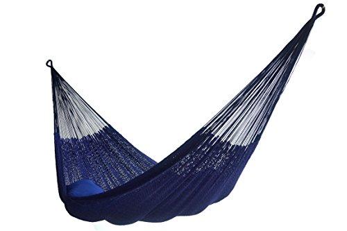Hammocks Rada - Super Cotton Thick String - Mayan Style (Dark Blue Color)