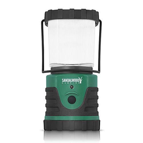 Sandalwood Ultra-Bright 300-Lumen LED Outdoor Camping Lantern Light Hiking Lamp