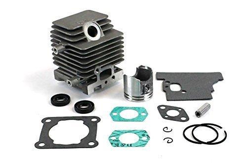 Engine Cylinder Piston - Stihl FS85, FS85R, FS85T, FS85RX Engine Rebuild Kit Contains Cylinder Piston Rings and Gasket Set