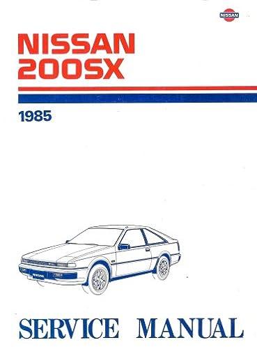 1985 nissan 200sx service manual nissan motor company amazon com rh amazon com nissan 200sx s13 manual pdf nissan 200sx s13 manual