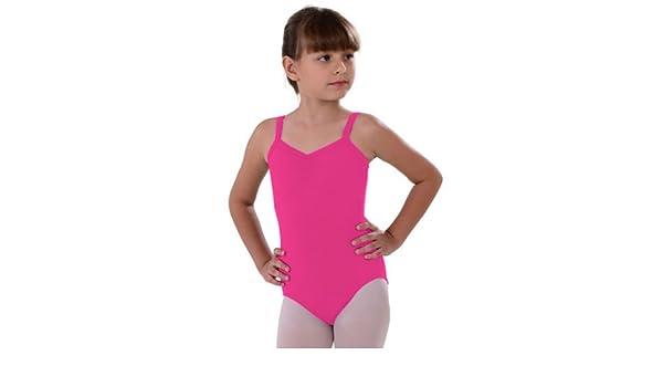 31c39e2f6 Amazon.com  So Danca Dark Pink Camisole Rhinestone Dance Leotard ...