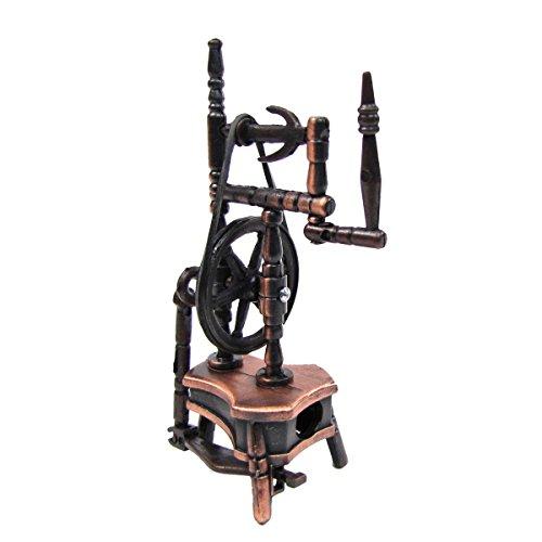 TG,LLC 1:12 Scale Miniature Dollhouse Replica Spinning Wheel Die Cast Pencil Sharpener