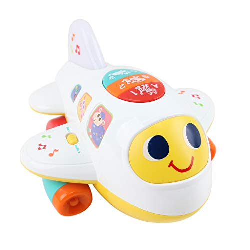 YOMXL Baby Electronic Musical Airplane Toys for
