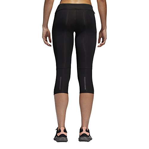 adidas Women's Response Tights, Black/Black, X-Small by adidas (Image #4)