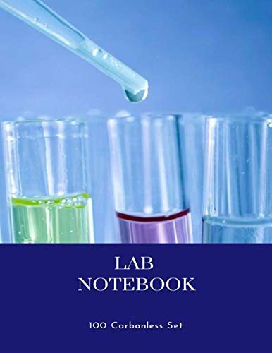 Lab Notebook 100 Carbonless Set: for students, chemistry -