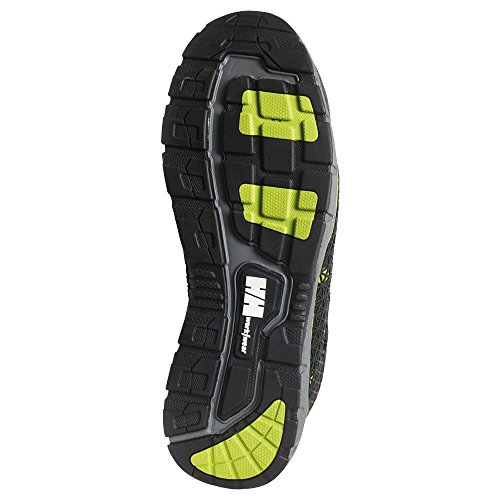 Helly Hansen Mens Smestad Protection Water Resistant S3 Safety Shoes Black/Dark Lime