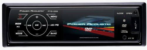Power Acoustik PTID-3200 Single DIN A/V Source Unit w/ 3.2