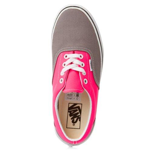 Vans Era Zapatos Tamaño Frost Grey / Neon Pink