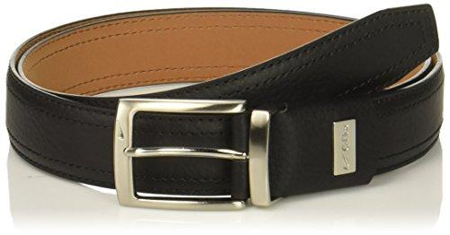 01dc310af14e4 Nike Men s G-Flex Pebble Grain Leather Belt