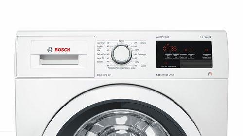 Bosch Serie 6 WAT243H8II Independiente Carga frontal 8kg 1200RPM A ...