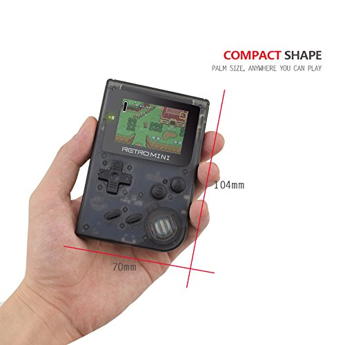 SODIAL Retro Game Console 32 Bit Portable Mini Handheld Game Players Built-in 940 for GBA Classic Games Best Gift for Kids Black by SODIAL (Image #7)