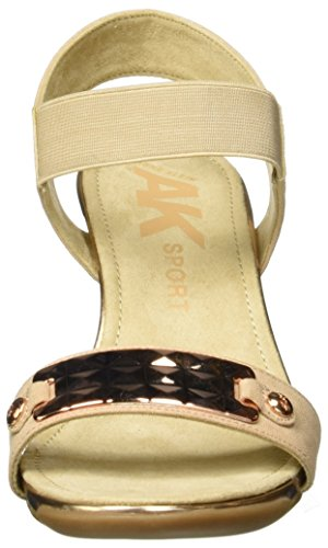 Sandal Women's Fabric AK Sport Light Anne Natural Klein Latasha Wedge 1aBx0