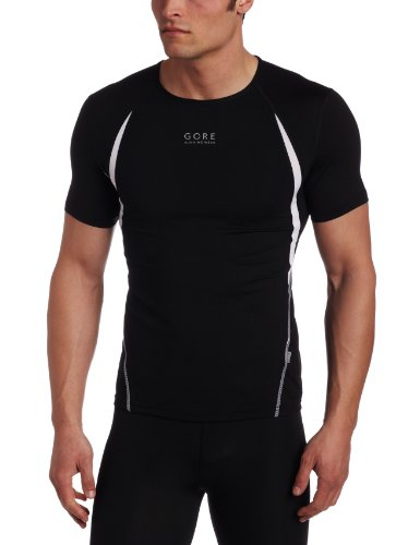 Gore Men's Air 2.0 Shirt, Black/White, Medium