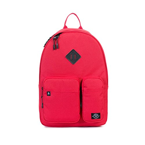 Parkland Academy Backpack (One Size, Red)